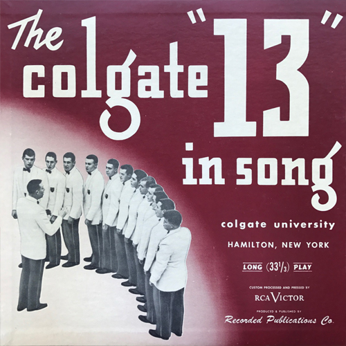 The Colgate Thirteen, The Colgate Thirteen in Song